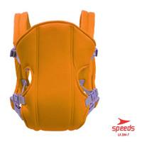 Gendongan Hipseat Bayi Baby Carrier Ransel Depan dan Bahan Nyaman204-7 - Orange
