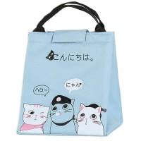 Japanese Cooler Bag Souvenir Lucu Kucing Cat Lover Insulated Karakter