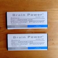 Batre batrai baterai advan i45 double power brain power