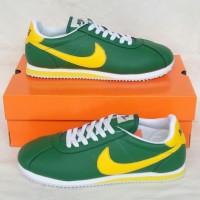 Sepatu termurah NIKE CORTEZ Green Size 40 keatas Fullset Lengkap Murah