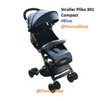 Stroller Kereta Bayi Pliko 301 Compact Bisa Gojek Cabin Size