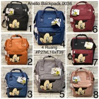 Anello MICKEY Backpack Wanita Import Premium