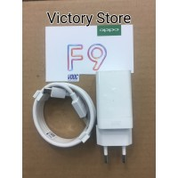 Charger Oppo F9 Vooc Original 100% 4A Fast Charging