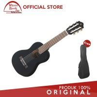 Yamaha Gitar Mini GL-1 GL1 Guitalele GL1BL - Hitam + Softcase