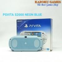PSV PS VITA SONY PlayStation Vita SLIM S2000 NEON BLUE LIMITED