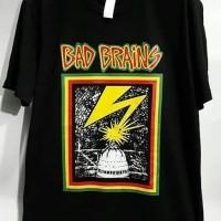 Kaos Musik Metal Punk Rock Band Bad Brains Kualitas Impor