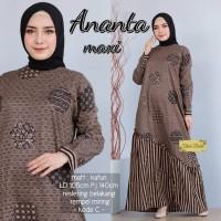 batik gamis lawasan Baju remaja batik longdress batik wanita muslimah