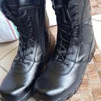 sepatu pdl sleting safety asli bukan kulit