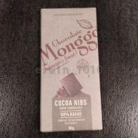 Chocolate Monggo Cocoa Nibs 69% Kakao 80gr