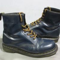 dr martens 1460 navy blue size 8uk 42 eur