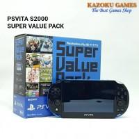 PSV PS VITA SONY PlayStation Vita SLIM 2000 SUPER VALUE PACK LIMITED