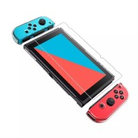 (FIT DOCK) Clear Crystal Dockable NS Nintendo Switch Casing Mika