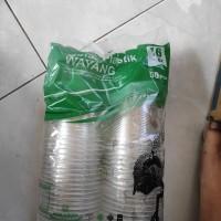 Gelas Plastik Wayang 16oz