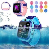 Jam Tangan Anak Q12 Like Imoo Children SmartWatch LBS Anti-lost SOS - Biru