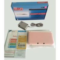 Nintendo 3DS-XL Pink/White (Refurbish Nintendo)+OriginalAdaptor+Game