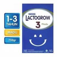 Susu Lactogrow 3 ( plain, madu)