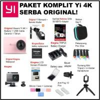 Xiaomi Yi 4K Paket Komplit with Xiaomi Monopod & Remote