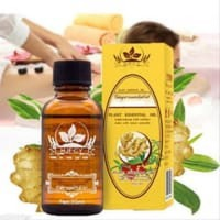 JM - READY STOK Herbal Plant Therapy Lymphatic Drainage Ginger Oil