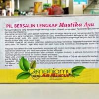 HOT SALE Jamu Bersalin Air Mancur 1 - 40 Hari Bentuk Pil Terjamin