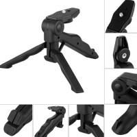 2 in 1 Portable Mini Folding Hand Monopod Stand Tripod DSLR Camera