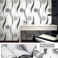 Home Wallpaper - Walpaper Sticker Dinding Motif Cakra - 45cm x 10 m