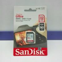 SD Card SDHC Ultra Sandisk 32GB 90Mbps ORIGINAL GARANSI RESMI