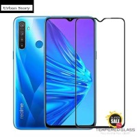 REALME 5i TEMPERED GLASS FULL COVER ANTI GORES KACA