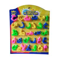 Purre Shop Mainan Edukasi Anak Huruf Hijaiyah Magnet