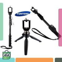Tripod Tongsis YUNTENG Bluetooth YT-9928 Selfie Stick