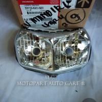 HEAD LAMP REFLEKTOR NEW SUPRA X 125 FI ORI AHM 33110-K41-N01