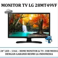TERMURAH Monitor LG LED HD TV HDMI 28MT49VF 28 Wide Viewing Ang