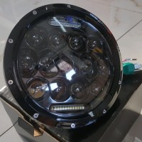 Great lampu daymaker led spider 7 inchi untuk royal w175 mog