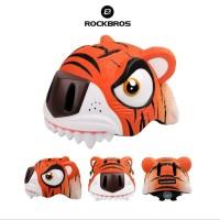 ROCKBROS ER-TK4 Bike Child Helmet Cartoon Light - Helm Sepeda Anak