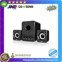 SADA D-203 Speaker Stereo 2.1 with Subwoofer & USB Power Bagus