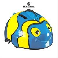 ROCKBROS TT-ER800 Kids Child Helmet Cartoon - Helm Anak - NEMO BLUE