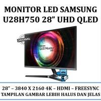 Monitor LED SAMSUNG 28 Inch U28H750 QLED UHD - Resmi tools
