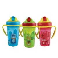 Baby Safe JP020 Botol Minum Sedotan Cup with Weighted Straw 300 ml