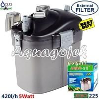 Jebo 225 Aquarium Aquascape External Canister Filter