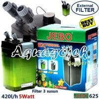 Jebo 625 Aquarium Aquascape External Canister Filter
