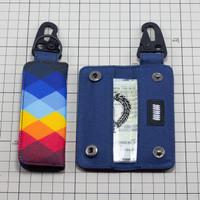 Dompet STNK Mobil Motor Gantungan Kunci Carabiner Slim Minimalis DS26