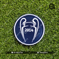 [ PATCH ] UCL WINNER DEFENDING 2014 REAL MADRID JERSEY RETRO
