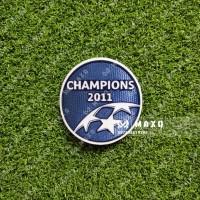 [ PATCH ] UCL WINNER DEFENDING 2011 BARCELONA JERSEY RETRO
