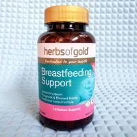 Herbs of Gold Breastfeeding Support DOUBLE STRENGTH 60 Kapsul Padat