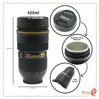Gelas Mug Lensa Kamera Nikon Cup AF 24-70mm - Gelas Lensa Kamera B271
