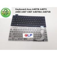 Keyboard Asus A407M A407U A405 A407 X407 A407MA A407UB Black