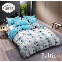 Vallery - Sprei King T.30 Jacguard / Aloe Vera motif Baltic