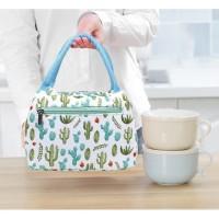 LB09 Cute Lunch box Mom and Kids / Cooler bag / Tas Bekal - LHAMA