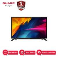 SHARP LED TV 32 Inch HD HDMI USB - 2T-C32BA2i - Titanium (2019)