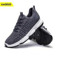 Ambigo Argos JKT74 Sepatu Running Lari Sneakers Olahraga Pria - Abu-abu, 43