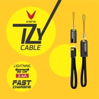 VYATTA IZY LIGHTNING iPhone IOS Cable / Kabel Data FAST CHARGE